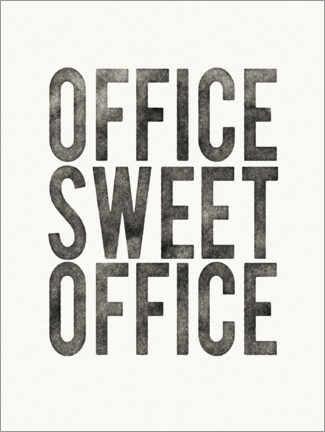 Poster  Office Sweet Office - Wild Apple Portfolio