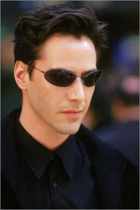 Sticker mural  The Matrix - Keanu Reeves is Neo