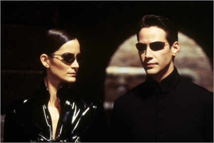Tableau sur toile  The Matrix Reloaded - Neo and Trinity