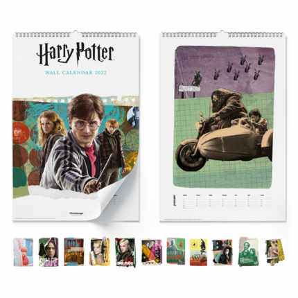 Calendrier mural  Harry Potter 2022