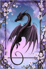 Sticker mural  Dragon de printemps - Susann H.