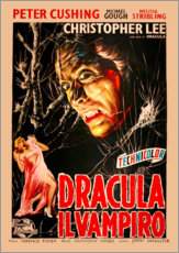 Sticker mural  Le Cauchemar de Dracula (italien) - Entertainment Collection