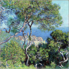 Poster  Les Villas à Bordighera - Claude Monet