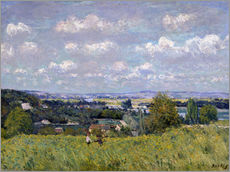 Tableau en plexi-alu  The Valley of the Seine at Saint-Cloud - Alfred Sisley
