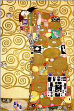 Sticker mural  L'Arbre de vie (L'accomplissement) - Gustav Klimt