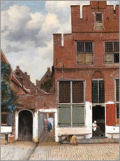 Sticker mural  La Ruelle - Jan Vermeer