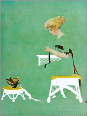 Tableau en plexi-alu  Home ties - Clarence Coles Phillips