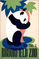 Sticker mural  Brookfield Zoo - Advertising Collection