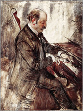 Sticker mural  The Pianist - Giovanni Boldini