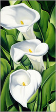 Sticker mural  Lily - Catherine Abel