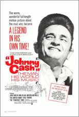 Tableau sur toile  Johnny Cash! The Man, His World, His Music - Entertainment Collection