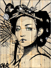 Sticker mural  Lotus - Loui Jover
