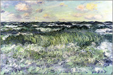 Sticker mural  Marine - Claude Monet
