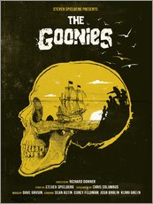 Sticker mural  Les Goonies (anglais) - Golden Planet Prints