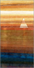 Sticker mural  Solitude - Paul Klee