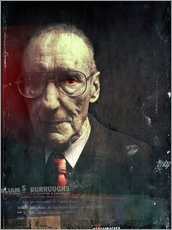 Sticker mural  William S. Burroughs - Daniel Matzenbacher