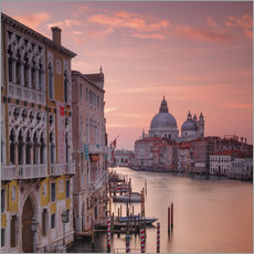 Sticker mural Venice and the grand Canal at sunrise