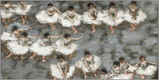 Sticker mural  Le ballet - Pierre Bonnard