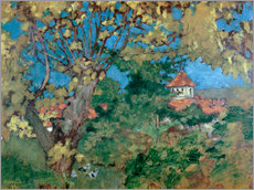 Tableau en plexi-alu  La Maison du Grand-Lemps - Pierre Bonnard