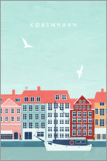 Poster Illustration Copenhagen