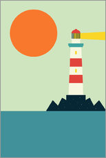 Sticker mural  Phare - Andy Westface