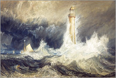 Tableau en plexi-alu  Phare de Bell Rock - Joseph Mallord William Turner