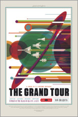 Sticker mural  Le Grand Tour