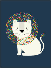 Sticker mural  Comme un lion - Andy Westface