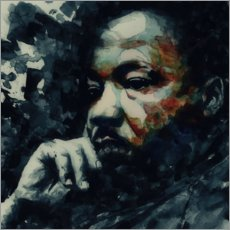 Sticker mural Martin Luther King