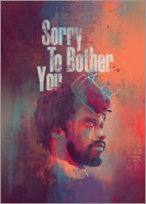 Tableau sur toile  Sorry To Bother You - Fourteenlab