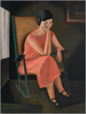 Sticker mural  Miss Whiting - George Ault