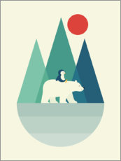 Poster  À dos d'ours - Andy Westface