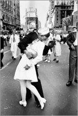 Poster  V-J Day in Times Square - Celebrity Collection