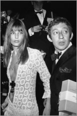 Poster  Jane Birkin et Serge Gainsbourg - Celebrity Collection
