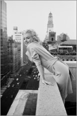 Poster  Marilyn Monroe à New York - Celebrity Collection