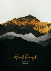 Tableau en plexi-alu  Mount Everest - Tobias Roetsch