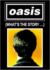 Sticker mural  Oasis, What's The Story - Entertainment Collection