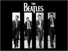 Sticker mural  The Beatles - Entertainment Collection