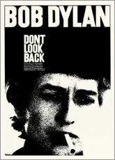 Sticker mural  Bob Dylan - Don't Look Back - Entertainment Collection