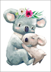 Sticker mural  Maman koala - Kidz Collection