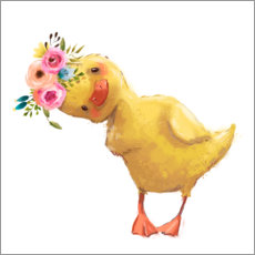 Tableau en aluminium  Poussin de printemps - Kidz Collection