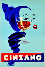 Sticker mural  Cinzano - Advertising Collection