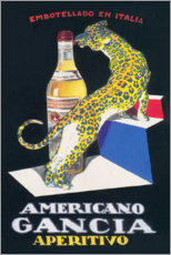 Poster  Gancia Vermouth Bianco (italien) - Advertising Collection