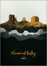 Poster Monument Valley
