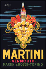 Tableau en PVC  Affiche publicitaire Martini - Advertising Collection