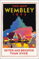 Tableau en plexi-alu  The new Wembley 1925 (anglais) - Gregory Brown