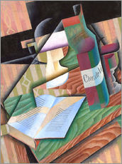 Sticker mural  The Book - Juan Gris