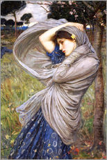 Tableau en plexi-alu  Borée - John William Waterhouse