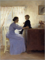 Sticker mural  Mother and Child - Peter Vilhelm Ilsted