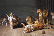 Sticker mural  Les Fauves - Jean Leon Gerome